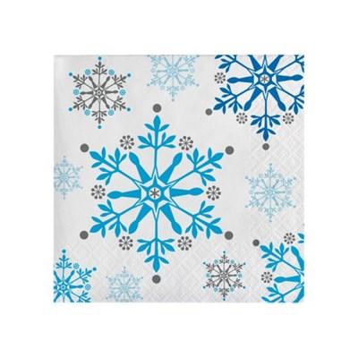 [빛나파티]겨울왕국 장식용 냅킨 눈모양 눈무늬 Snowflake Swirls Be