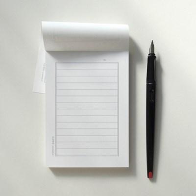 클래식 편지지 메모지