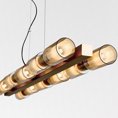 LED 디엘 6등 직부등(브론즈)