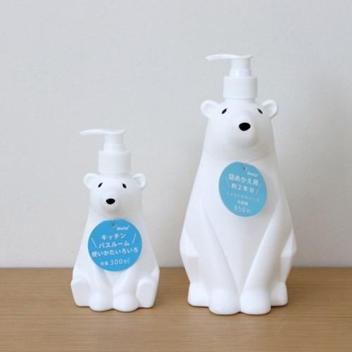 Hashy 북극곰 디스펜서 세제 소분용기 (3 Size)