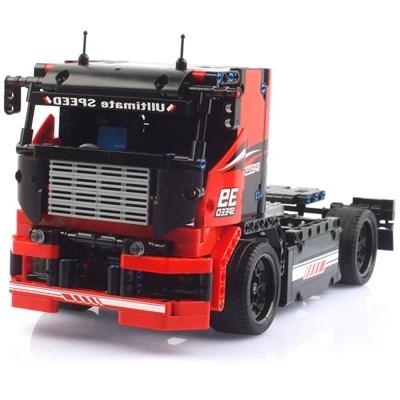 2.4GHz 블록테크닉 1/16 트레일러트럭 블록RC 570pcs