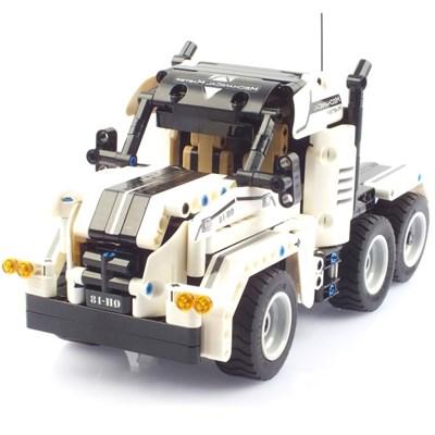 27Mhz 블록테크닉 트럭 자동차 2in1 블록RC 379PCS