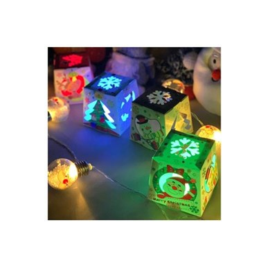 DIY LED 사각스탠드 만들기 (크리스마스, 별자리 택1)