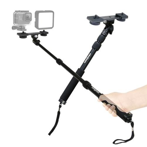 본젠 MT-488 카메라 액션캠 셀카봉 + KP-033SP 듀얼 브라켓 SET