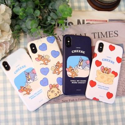 오요앤올리 톰과제리 치즈시리즈 휴대폰 하드케이스