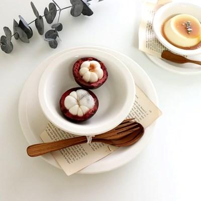 시라쿠스 찬기 그릇 디저트 접시