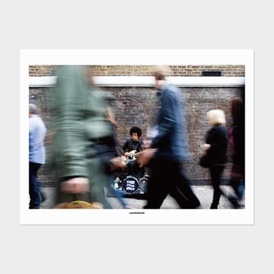 [카멜앤오아시스] Untitled 08 런던 버스킹 음악 포스터