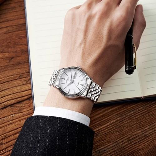 [쥴리어스 옴므] JAH-132 남성시계 손목시계 메탈밴드