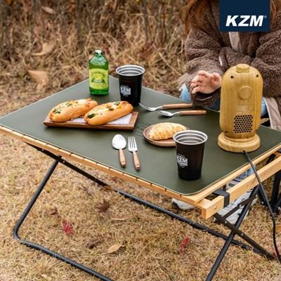 카즈미 윈썸 롤 매트 M K21T3Z02 / 캠핑 테이블 매트 테이블보