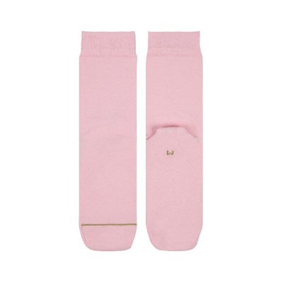 핑크 플레인 크루삭스 S 아동용 (210-230mm)