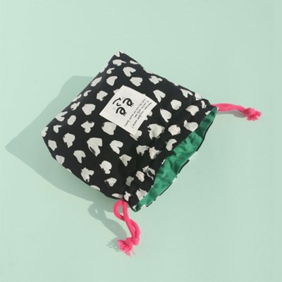 Pattern string pouch_Love