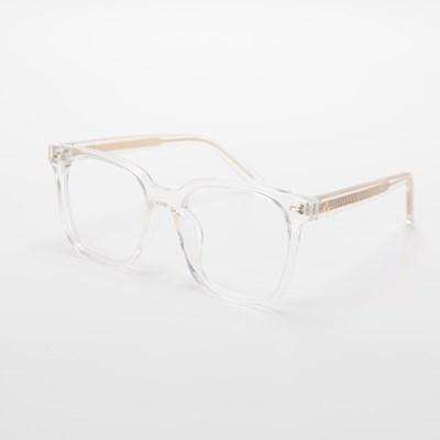 [SBKA]Trey-C02 투명사각뿔테안경