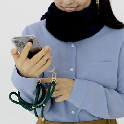 지현 핸드폰 스트랩 케이스 2020FW 골드(삼성케이스-노트시리즈)