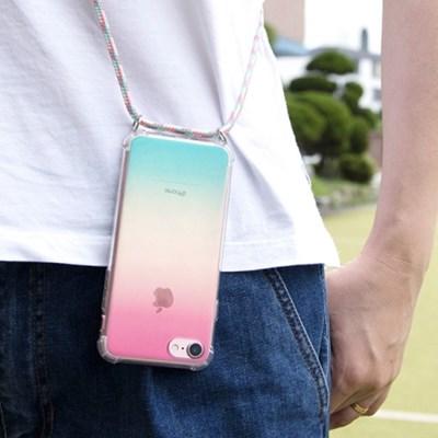 [디오플러스] 폰스트랩 핸드폰 줄 목걸이, 폰네크리스, 핸드폰케이스