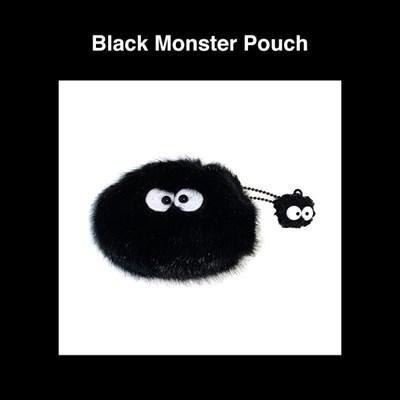 블랙 몬스터 파우치