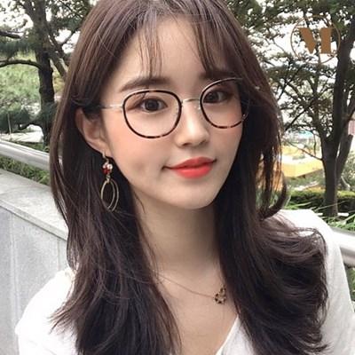 [먼데이룰즈] 100%국산 호피 뿔테 블루라이트 차단 남녀공용 안경