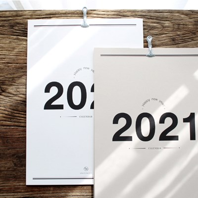 2021 무화 벽캘린더 2colors