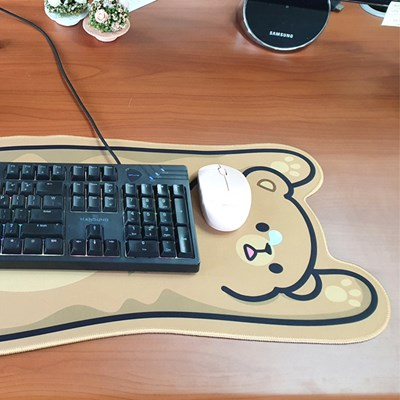 미끄럼 방지 귀여운 동물모양 마우스 장패드