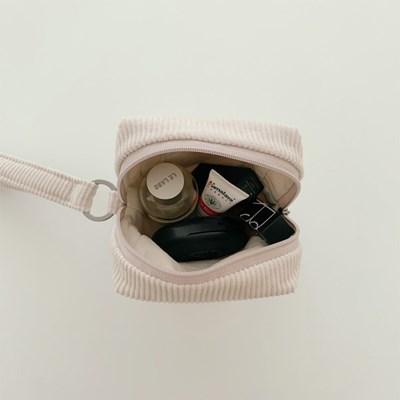 스트랩 파우치-코듀로이(strap pouch-corduroy)