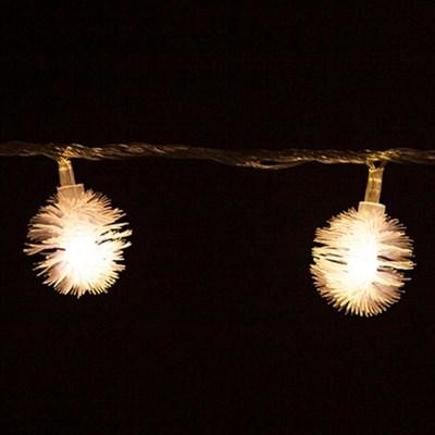 LED 전구캡 솜털 3cm(9개입+1개증정) TRLECV