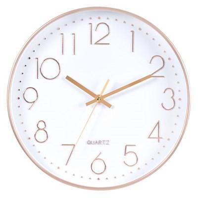 아날로그 인테리어 무소음 벽걸이 시계 GW002-WR