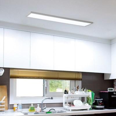 LED 데이온 리모컨 직하형 주방등 1290x320 50W