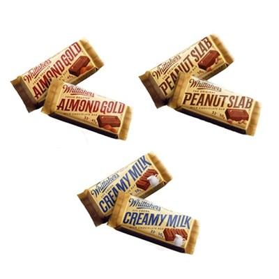 휘태커스 벽돌초콜릿 초콜릿선물 9,10,11번 골고루1개씩 총3개