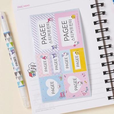 산리오캐릭터즈 네임스티커 카트리지 / 스티커 프린터