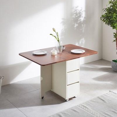 하스민퍼니처 올인원접이식테이블B 4인용 식탁 테이블