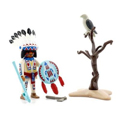 플레이모빌 인디언 족장(70062)