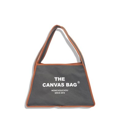 [monchouchou] The Canvas Bag_Charcoal