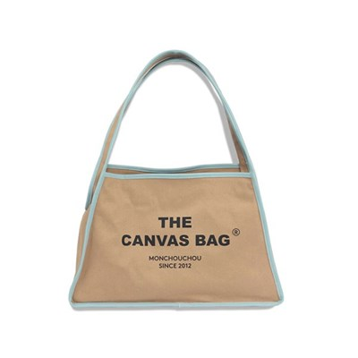[monchouchou] The Canvas Bag_Beige