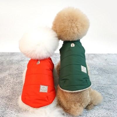 유아러피치 베이직 웜 패딩 강아지겨울옷