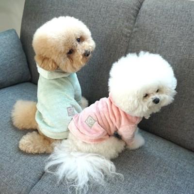 유아러피치 벨보아 후드 티셔츠 강아지봄옷 간절기용