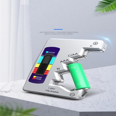 디지털형 건전지 충전지 배터리 잔량 측정 테스터기