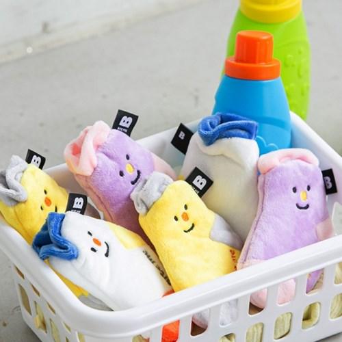 바잇미 양말 장난감 세트 (노즈워크/바스락)