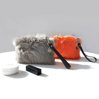 Cat clutch_Orange blue