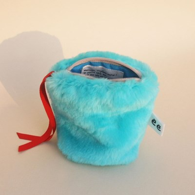 Pony pouch_Blue hawaii