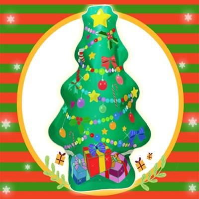 캐리와 친구들 크리스마스 트리 색칠풍선_(2442819)