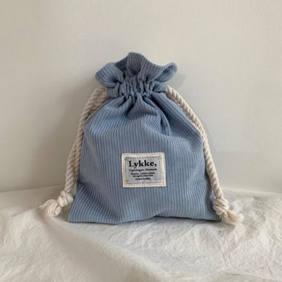 Lykke String Pouch_pale sky