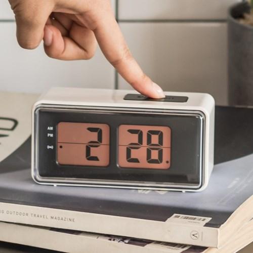 플라이토 플립스타일 LCD 탁상시계