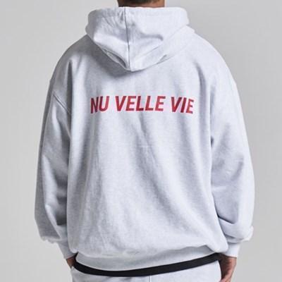 NUVV WHITE HOODIE no.1