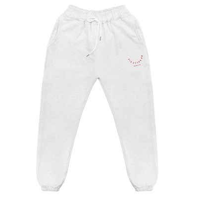 NUVV WHITE JOGGER PANTS no.1