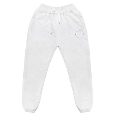 NUVV WHITE JOGGER PANTS no.2
