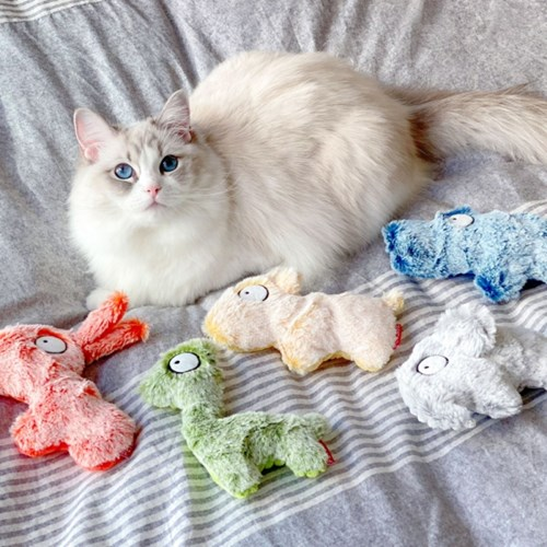 펫케어 흐리멍텅 동물원 고양이 캣닢 쿠션 장난감