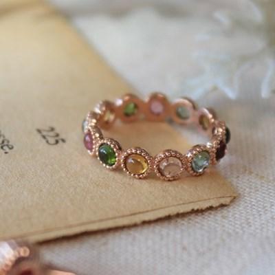 투어말린 이터니티 로즈 반지
