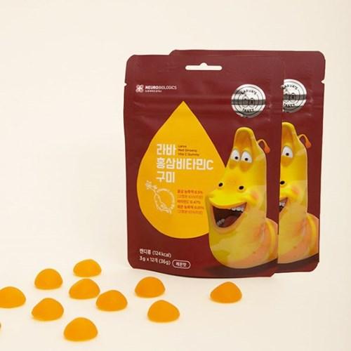 라바 홍삼비타민C 구미*10봉