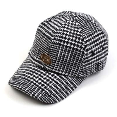 GDMT Glen Check Wool Ballcap 체크볼캡
