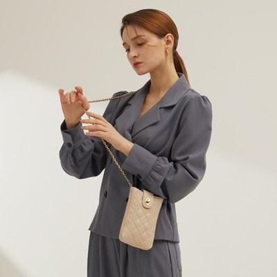 [러브참 퀼팅 핸드폰 미니백] Quilting cell phone mini bag