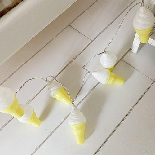 Cone Icecream String Lamp 콘아이스크림줄램프